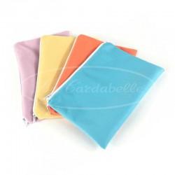 Pochette imperméable Orange pour serviette menstruelle