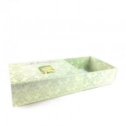 Coffret carton La Cardabelle grand ouvert