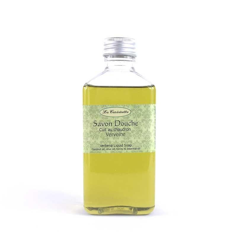 Savon douche naturel à l'huile de coco et d'olive et miel au frais parfum de verveine du Yunnan
