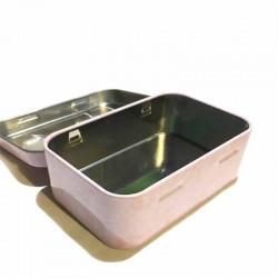 Boite à savon métal La Cardabelle rose