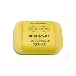 Savon Gelée Royale & Huile Essentielle Géranium