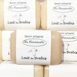 Savon artisanal au lait de brebis et à l'huile d'olive