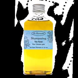 Shampoing naturel à l'huile d'olive pour cheveux gras parfum Tea Rose