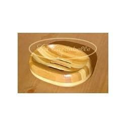 Porte savon oval en bambou