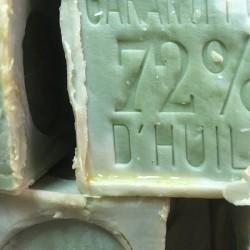 Savon de Marseille cuit au chaudron pur huile d'olive