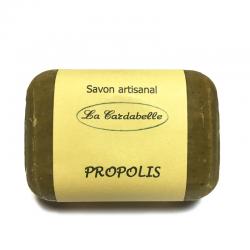 savon artisanal à la propolis huile d'olive miel pour bébé