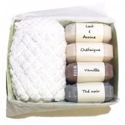 Box de savons artisanaux aux senteurs gourmandes
