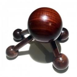 Masseur de tête et de dos en bois de rose bois précieux