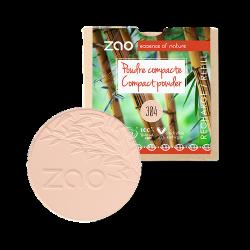 Poudre compacte 100% origine naturelle, bio, vegan et rechargeable