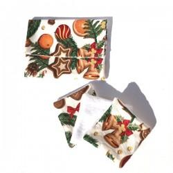 Pochette textile et lingettes visage