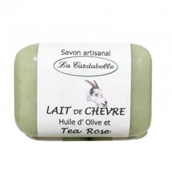 Savon La Cardabelle au lait de Chèvre et Tea Rose
