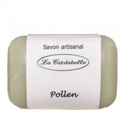Savon au pollen miel huile de macadamia sur base d'huile d'olive et de coco