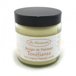 Bougie de massage naturelle tonifiante La Cardabelle