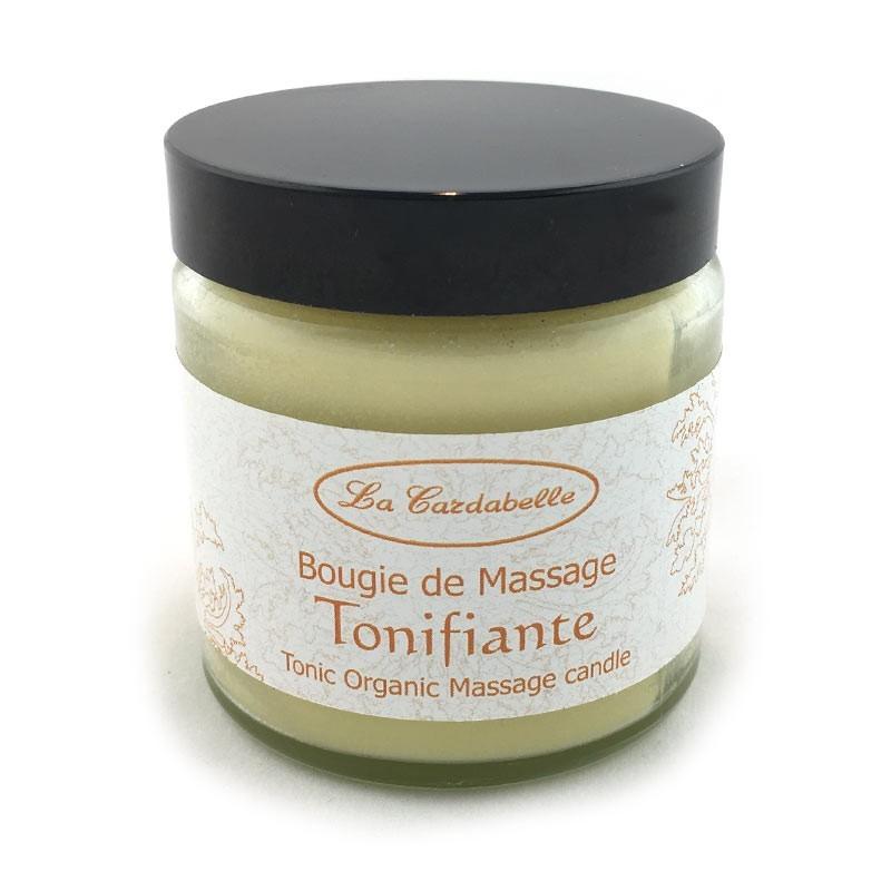 Bougie de massage naturelle tonifiante La Cardabelle