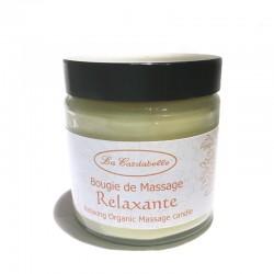 Bougie de massage relaxante aux huiles essentielles