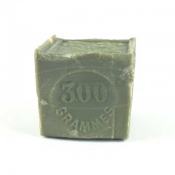 Bloc vert de savon de Marseille 300 gr