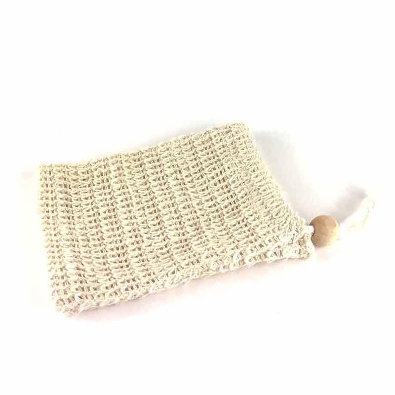 Petit sac à savon pour fins de savons