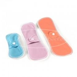 Protections hygiéniques lavables, nos différentes tailles