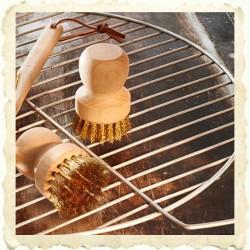 Brosse a grill en laiton