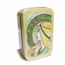 Boite à savon La Cardabelle verte